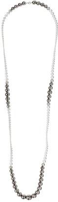 Yoko London Ombre Tahitian and Akoya pearl necklace