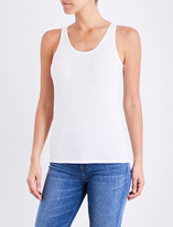 Sunspel Sleeveless cotton-jersey top