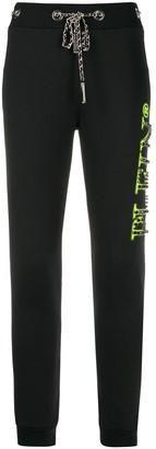 Philipp Plein Rhinestone Stud Track Pants
