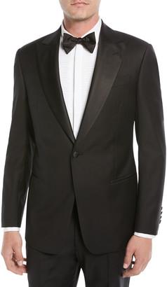 Emporio Armani Men's Super 130s Wool Two-Piece Tuxedo Suit
