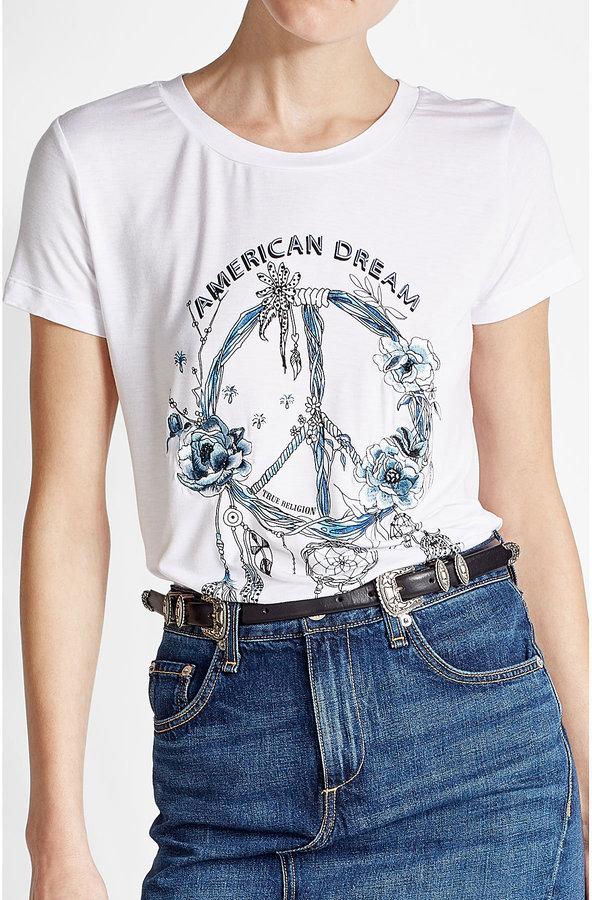 True Religion Printed Jersey T-Shirt