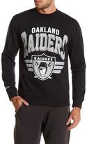 Mitchell & Ness NFL Raiders Fleece Crew Neck Sweater