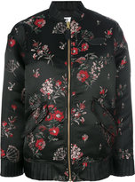 MM6 MAISON MARGIELA Floral printed bomber jacket