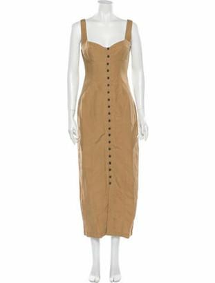 Mara Hoffman Angelica Bustier Long Dress w/ Tags
