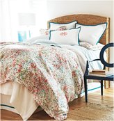 Peacock Alley Eloise Duvet, Orange - Coral - Twin