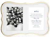 Kate Spade Crown Point Collection Gold-Plated Double Invitation Frame