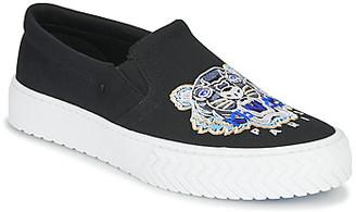 Kenzo K-SKATE SLIP ON women's Slip-ons (Shoes) in Black