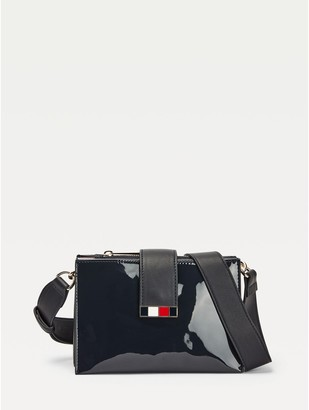 Tommy Hilfiger Statement High-Shine Crossbody Strap Bag