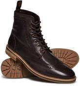 Superdry Brad Brogue Premium Stamford Boots