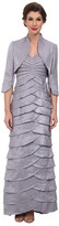 Adrianna Papell Shutter Pleat Dress w/ Jacket
