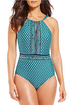 Jantzen Wow Factor High Neck One Piece