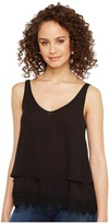 Roper 1291 Georgette Layered Tank Top Women's Sleeveless