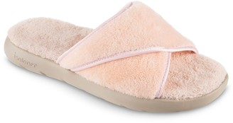 Isotoner Women's Microterry Slide Slippers
