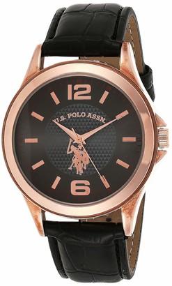 U.S. Polo Assn. Classic Men's USC50237 Analog Display Analog Quartz Black Watch