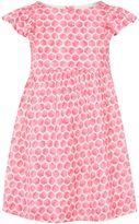 Joules Girls Woven Frill Spot Print Dress
