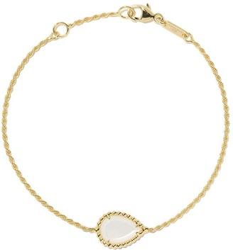 Boucheron 18kt yellow gold Serpent Boheme mother-of-pearl S motif bracelet