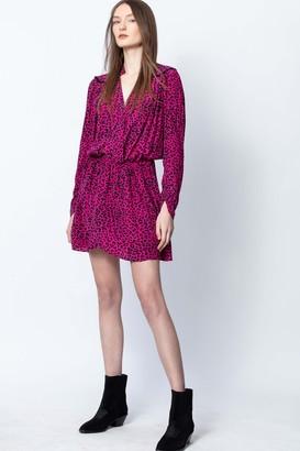 Zadig & Voltaire Reveal Leo Print Dress
