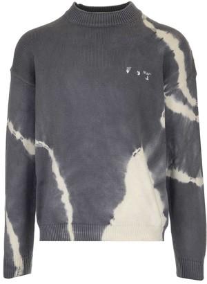 Off-White Tie-Dye Crewneck Pullover
