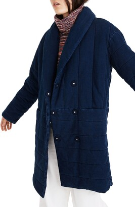 Madewell Denim Dumont Quilted Jacket