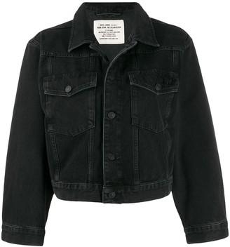 Diesel Cropped Denim Jacket