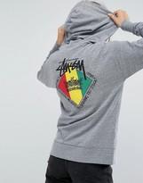 Stussy Hoodie With Reggae Print
