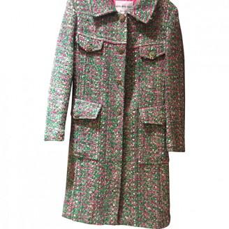 Anna Molinari Multicolour Wool Coat for Women
