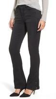 Wit & Wisdom Women's Snap Hem Itty Bitty Bootcut Jeans