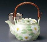 watou.asia SAZANKA-ROKUBE 0.85liter Teapot Jiki Japanese Original Porcelain