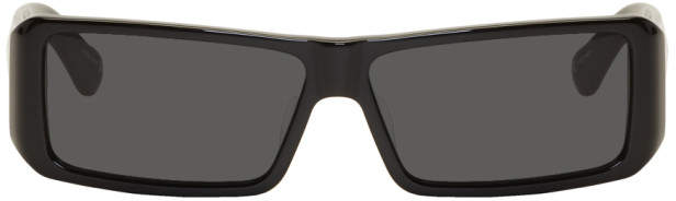 Dries Van Noten Black Linda Farrow Edition 157 C1 Sunglasses