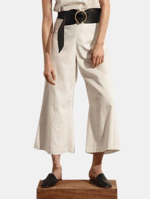 Stylein Bridget Wide Leg Linen Trousers