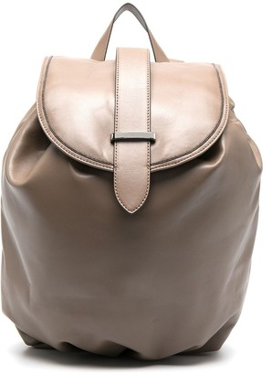 Brunello Cucinelli Front-Flap Backpack