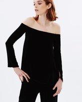 Rebecca Vallance Wylde Off-the-Shoulder Top