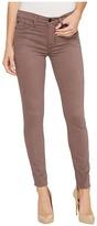 Hudson Nico Mid-Rise Super Skinny in Umber Women's Jeans