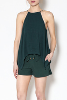 Moon River Trendy Sleeveless Top