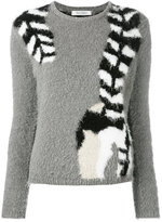 Max Mara raccoon tail jumper