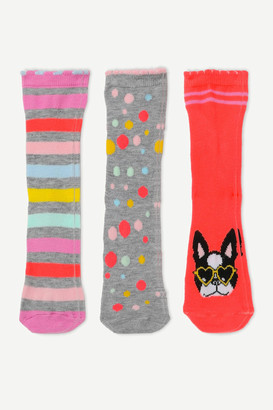 Ardene Printed Crew Socks for Girls