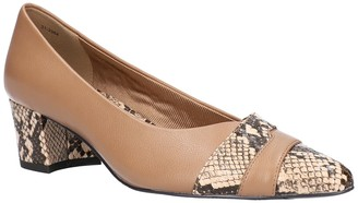 Easy Street Shoes Elle Pointed Toe Pump - Multiple Widths Available