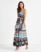 Yumi Floral Jersey Maxi Dress