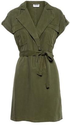 Noisy May Vera Tencel Shirt Dress Olive Night - Large