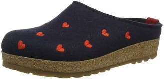 Haflinger Women's Couriccini Grizzly Open Back Slippers