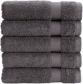 Christy Bamford Towel - Gun Metal - Bath Towel