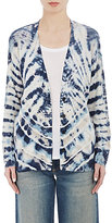 Raquel Allegra Women's Shredded-Back Cardigan