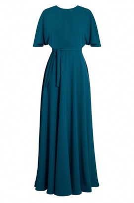Undress Soula Jade Maxi Butterfly Sleeve Dress