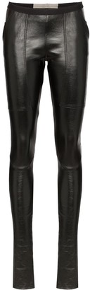 Rick Owens Lambskin Leather Leggings