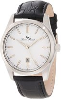 Lucien Piccard Men's 11568-02 Eiger Dial Black Leather Watch