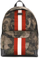 Bally printed backpack