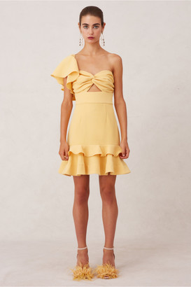 Keepsake DELIGHT MINI DRESS butterscotch