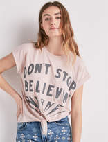 Lucky Brand Don'T Stop Believing Short Sleeve Tee