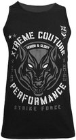 Xtreme Couture by Affliction Armored Cavalry Wolf Tank Top MMA 2X-Large