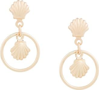 Petite Grand Shell earrings